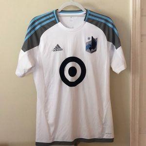 Adidas MLS soccer Minnesota United jersey